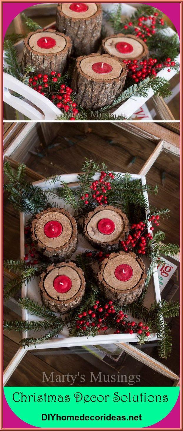25 do it yourself rustic christmas decoration concepts rh pinterest com