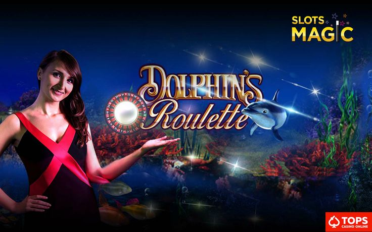 #NewSlot | Dive into fun at SlotsMagic Casino with Dolphin's Pearl Live Roulette.