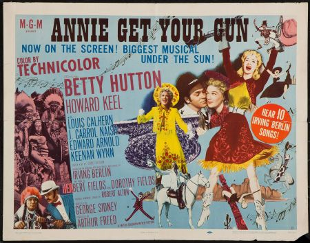 17 Best images about Annie Get Your Gun (1950). on ...