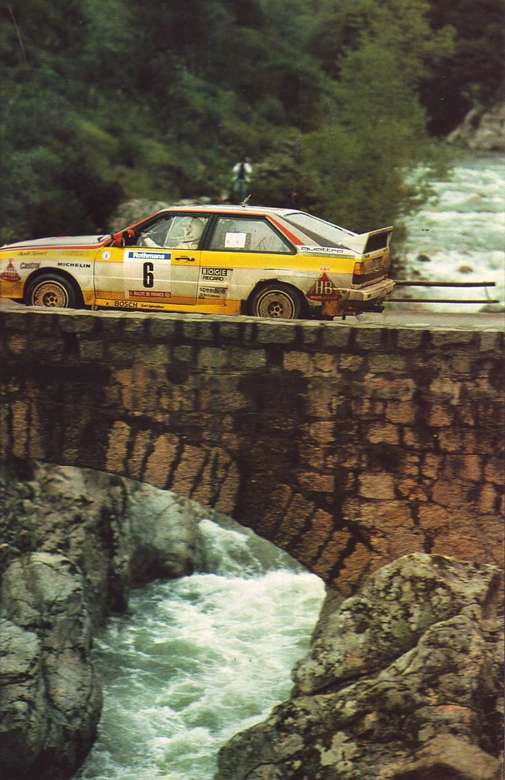 Audi quattro rally car don t get eaten by the crocs