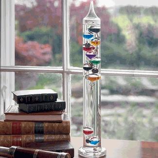 Galileo Thermometer.  Fun and pretty.  $32