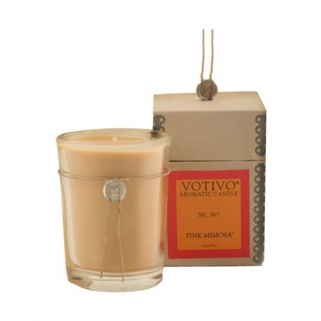 Votivo Candle - pink mimosa smells so good