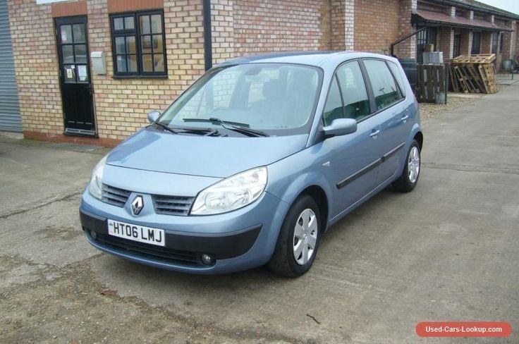 2006 Renault Scenic Expression 1.5 DCI 86 E4 in Blue Only 63000 Miles #renault #scenicexpsiondci86e4 #forsale #unitedkingdom