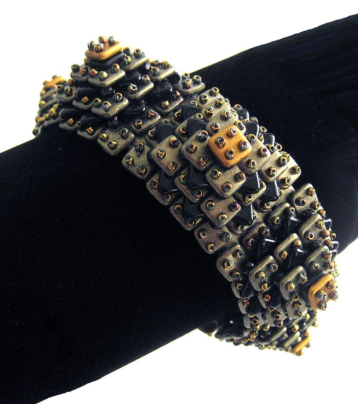 Diane Fitzgerald Ziggurat Bracelet - Bead&Button Show