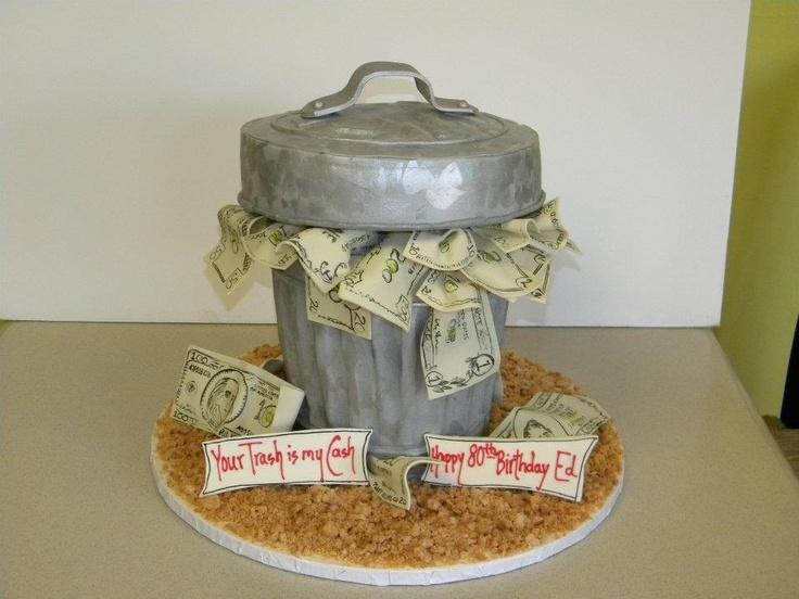 Best Custom Birthday Cakes Images On Pinterest Specialty - Money birthday cake images