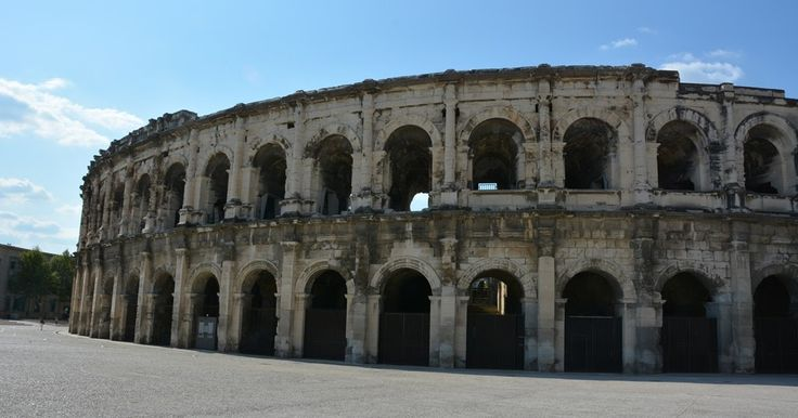 From gladiator fighting to music in the Arena of Nimes #travel #photography #nature #photo #vacation #photooftheday #adventure #landscape
