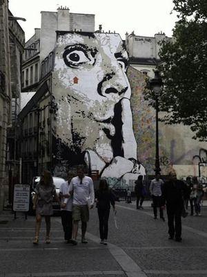 Fearless Art: Some Graffiti Artists Deserve Respect, maybe. @Optivion #music: Abstract Art, Artsy Stuff, Street Art, Fearless Art, Music Street, Artists Deserve, Paris Wwwl Blog Lisaweldon Com, 2012 09 07 Graffitibypomp Jpg, Graffiti Artists