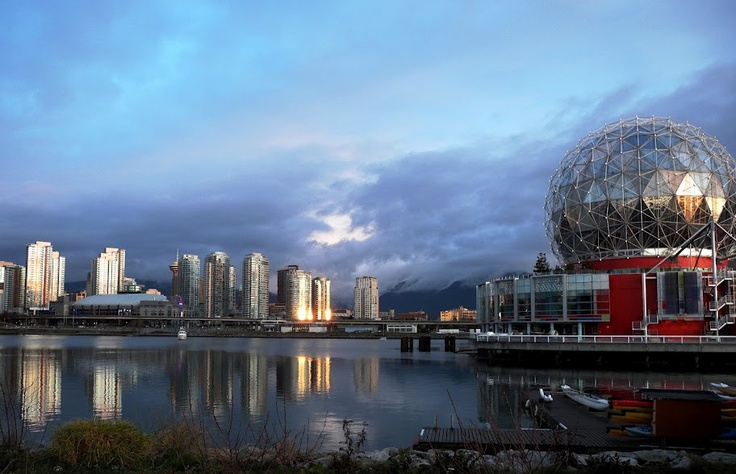 Early morning at False Creek, Vancouver
