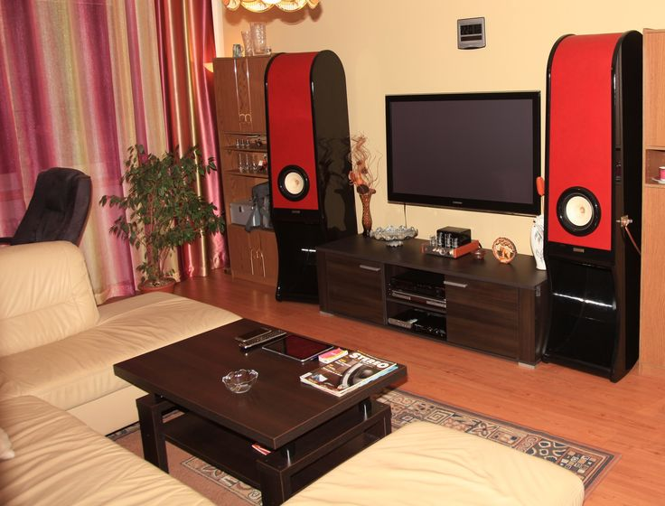 Czech republic RDacousti louspeakers Evolution. Luxury interior