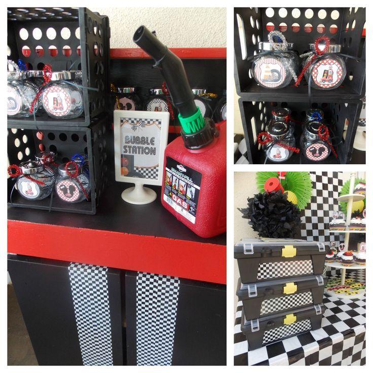 Racing theme set ups