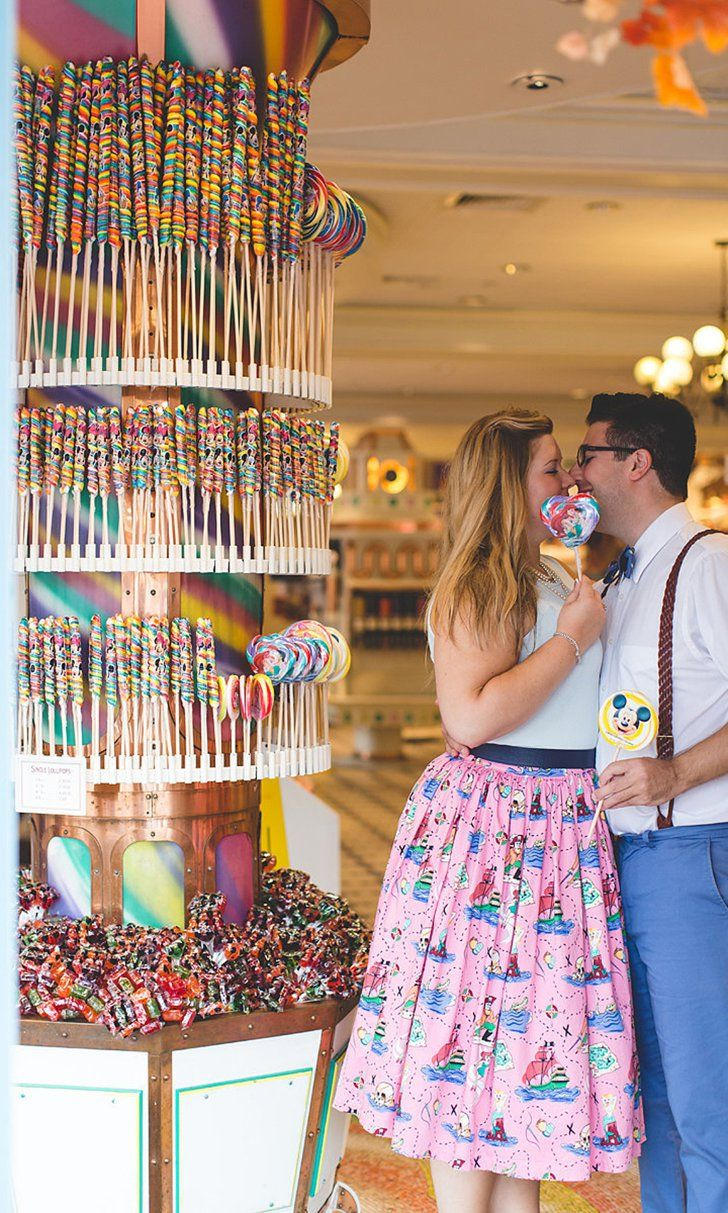 These Colorful Disney World Engagement Pictures Are SO Dreamy