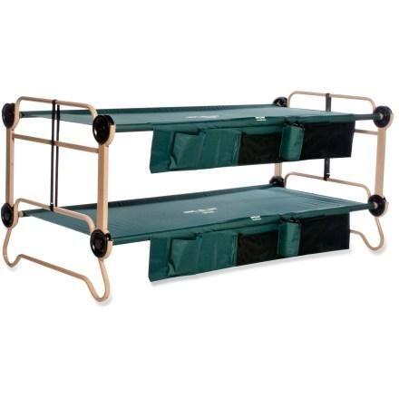 Disc-O-Bed Cam-O-Bunk Cots with Organizers - X Large at REI.com