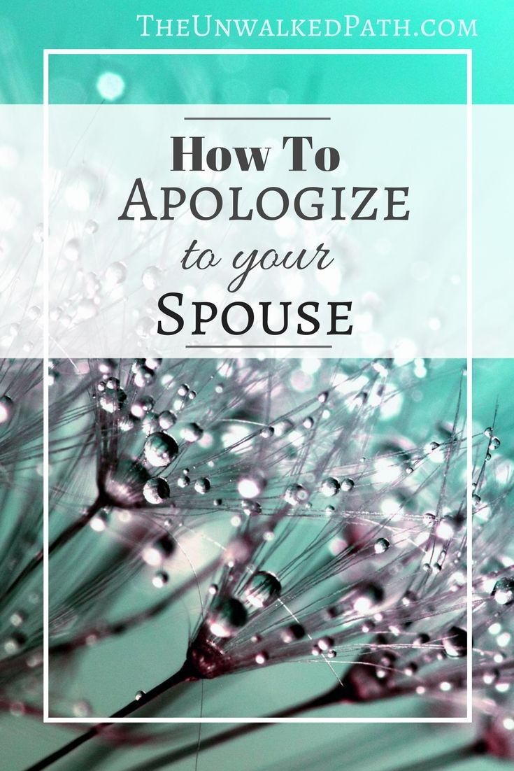 How to apologize to your Spouse. Tips for apologizing when you are in the wrong, but suck at apologies. Marriage Advice for couples.