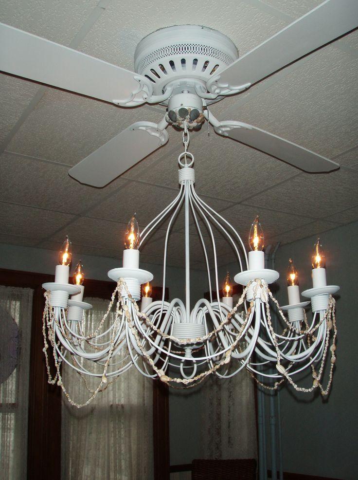 Best 25+ Ceiling fan with chandelier ideas on Pinterest   Chandelier fan, Ceiling  fan chandelier and Drapes curtains - Best 25+ Ceiling Fan With Chandelier Ideas On Pinterest