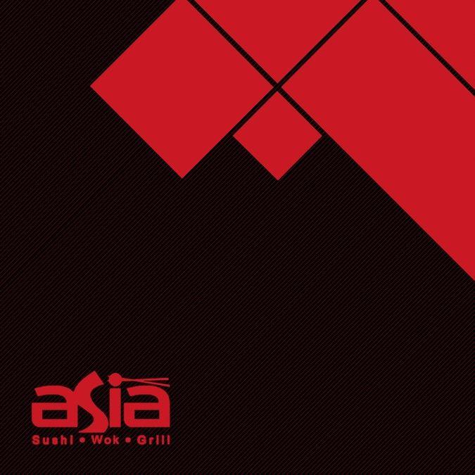 Asia- Sushi Wok Grill --Upscale Menu Design! by Zain-1991