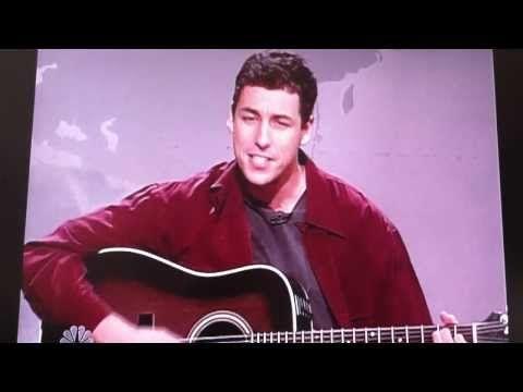 Adam Sandler SNL hanukkah song - YouTube