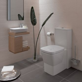 Twyford Vello cloakroom suite