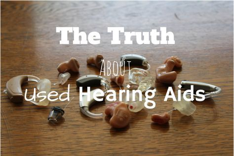 The Truth About Used Hearing Aids (Can I Wear Them?) - Everyday Hearing