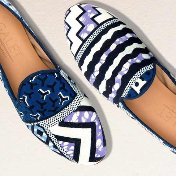 African Prints Slippers by Galet x Vlisco