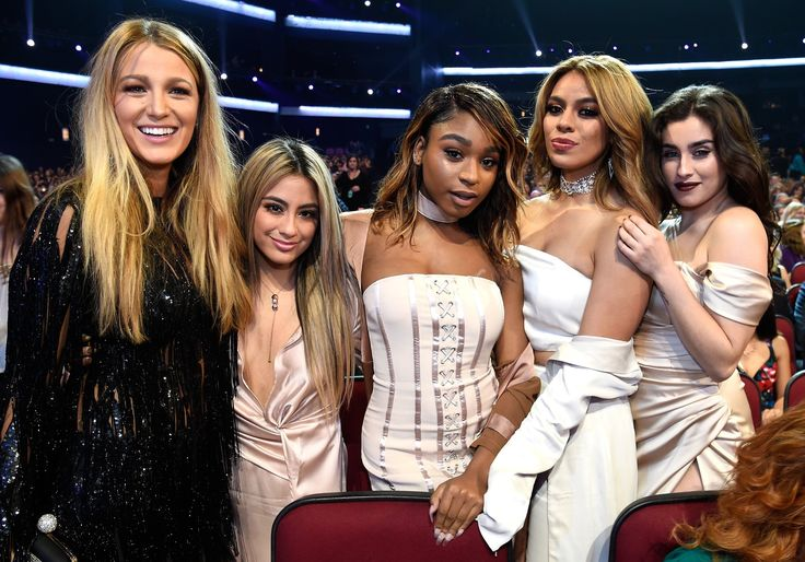 Blake Lively at the PCA'S with Fifth Harmony