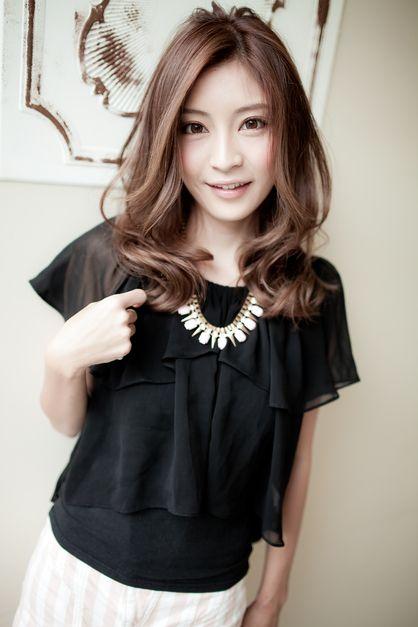 アラフォー向けセミディ | 銀座の美容室 AFLOAT JAPANのヘアスタイル | Rasysa(らしさ)