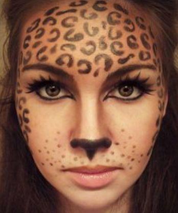 animal  makeup morgue  halloween face paint designs