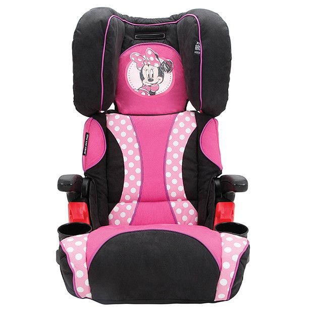 minnie mouse car seat for toddlers minnie mouse car safety booster seat crochet pinterest. Black Bedroom Furniture Sets. Home Design Ideas