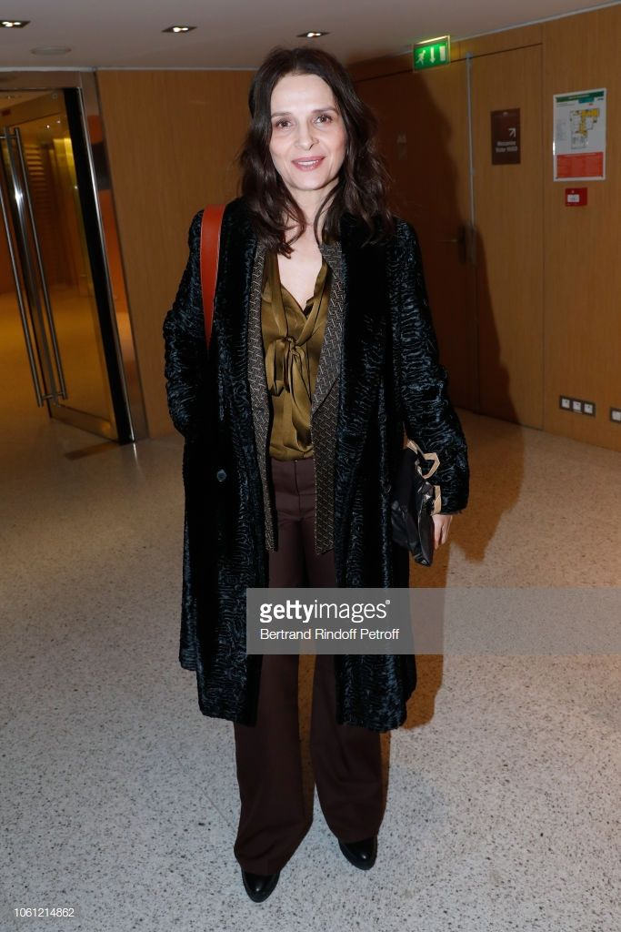 Actress Juliette Binoche attends the Private screening of  Malaria ... 7d99cfa8a6