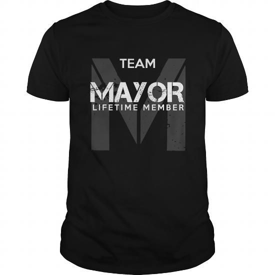 MAYOR T Shirts, Hoodies. Get it now ==► https://www.sunfrog.com/LifeStyle/MAYOR-94236064-Black-Guys.html?57074 $19