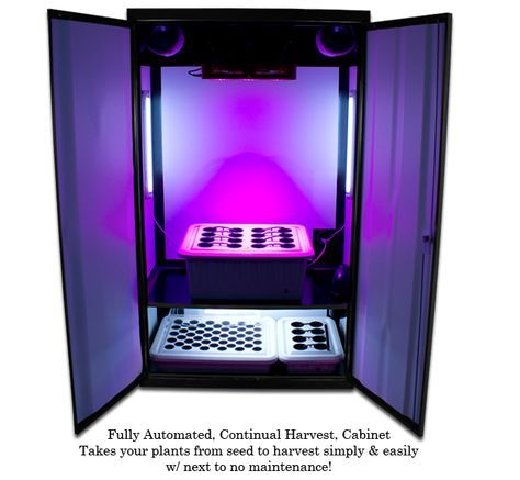 LED Grow Cabinet Leading the Way to Bigger Yields at Lower Electricity Coststp://supercloset.com/led-grow-cabinet/