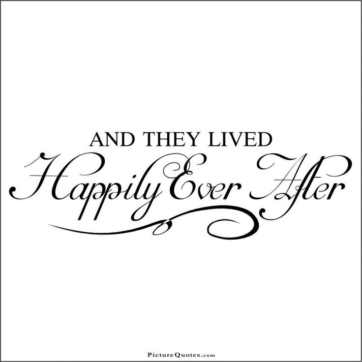 The reality of happily ever after