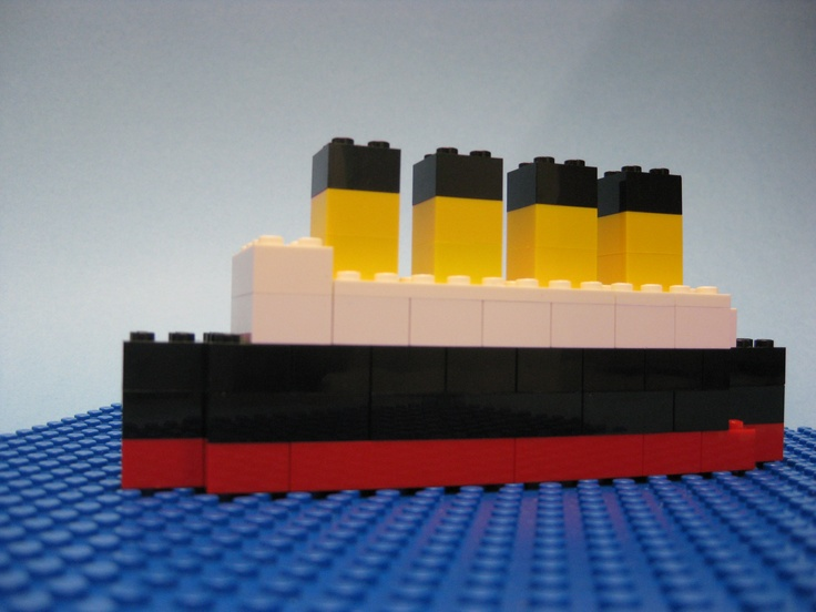 17 best Titanic images on Pinterest | Lego titanic, Legos ...