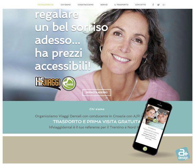Sito web realizzato per hfviaggidental http://www.hfviaggidental.com/