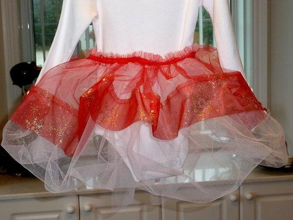 Tutu  Girls Handmade Tutu Set  Red and by SouthamptonCreations, $14.99