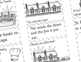 Great Fire of London Simple Retell http://activities.tpet.co.uk/#/viewResource/id40