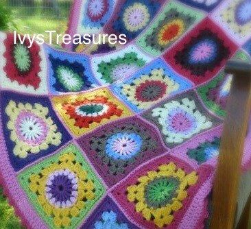 A personal favorite from my Etsy shop https://www.etsy.com/au/listing/239733276/pattern-pdf-crochet-ivy-granny-square