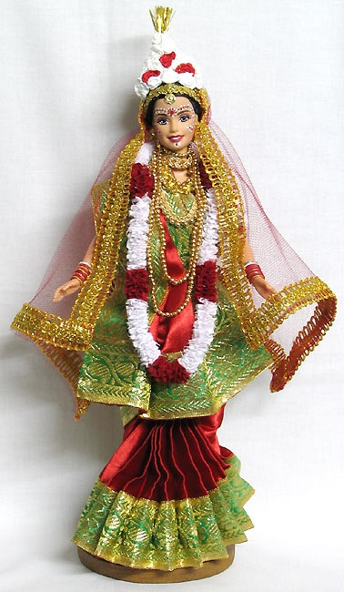 Indian Barbie-bengali bride