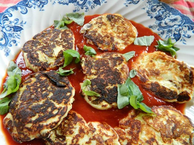 Beignets de ricotta, salade de courgettes (Jaimie Oliver)