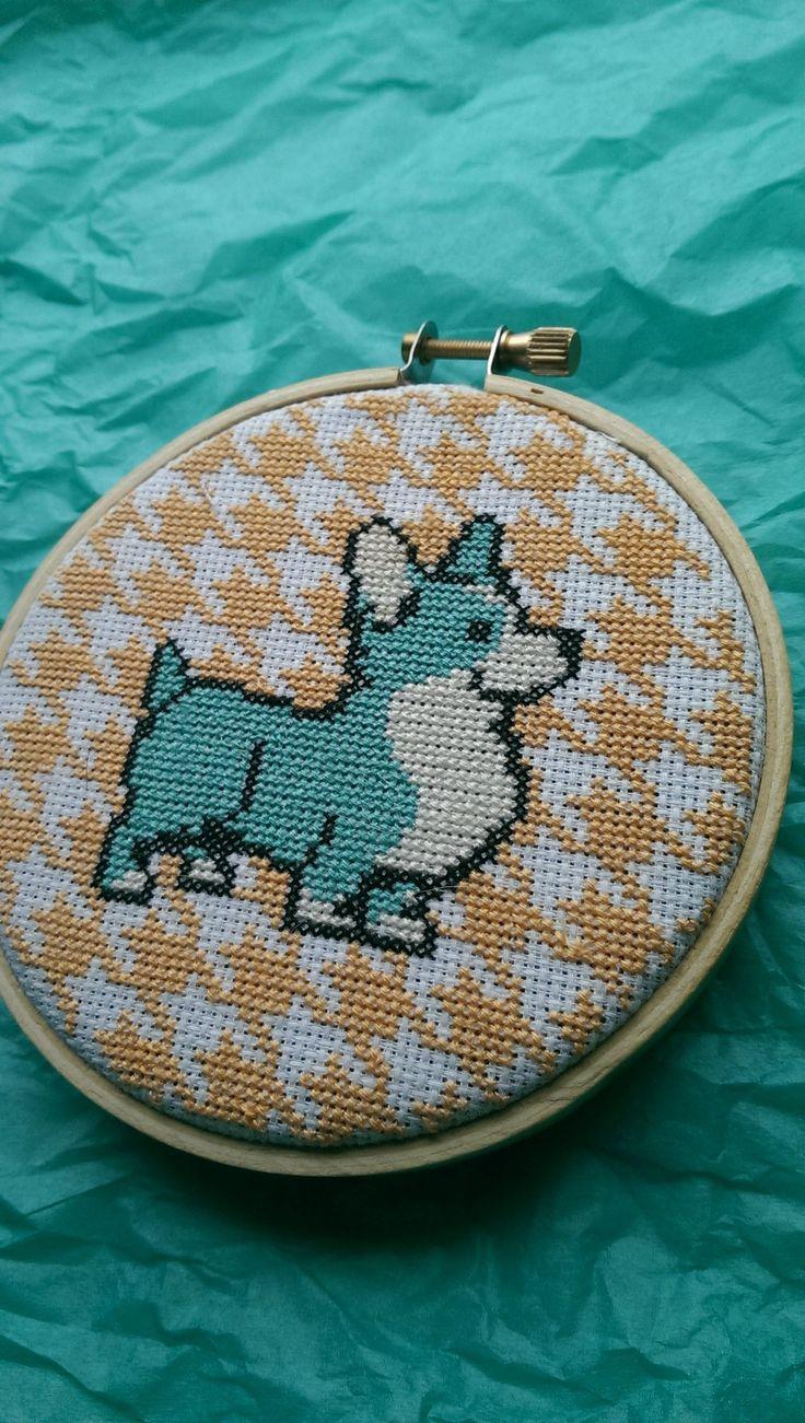Corgi cross stitch - Imgur