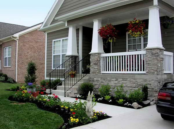front of house landscaping ideas - Bing Images