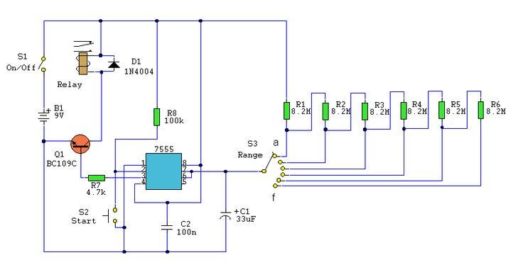 A B Fe Bf E B E B D on Scr Flip Flop Circuits
