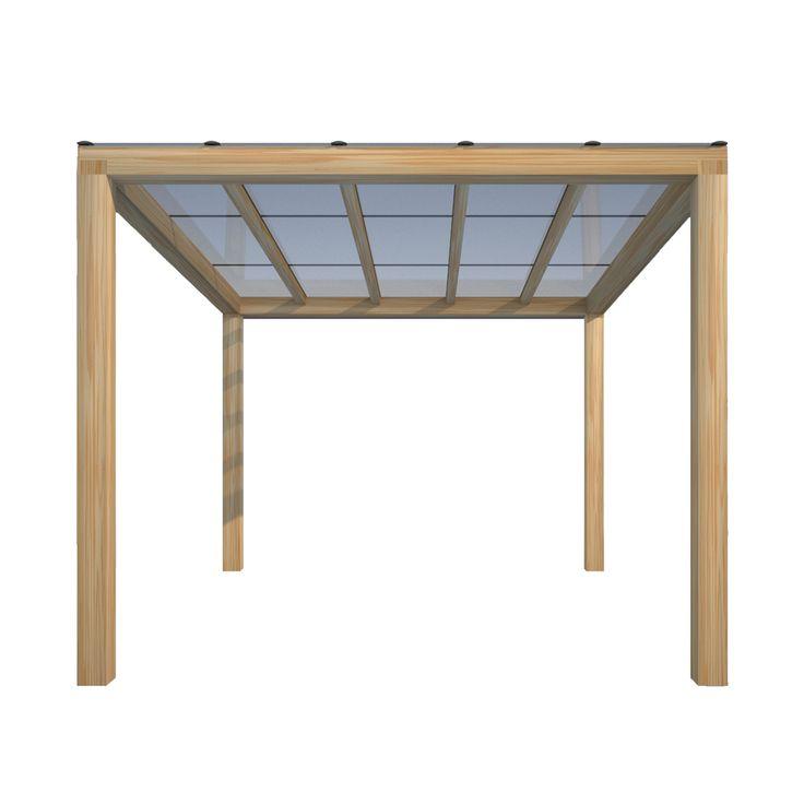 Bestel uw veranda met Transparante Zonnepanelen bij Fraai Buiten. Hoog rendement, Grotendeels lichtdoorlatend en zonder celstructuur.