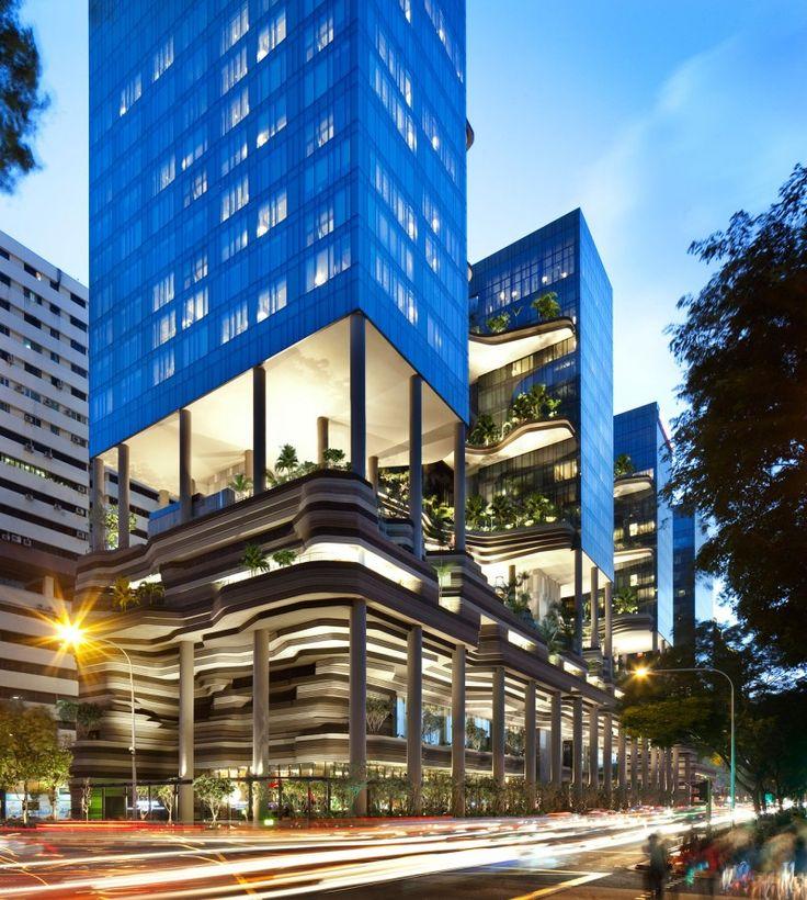 Organic Shapes and Ravishing Sky Gardens PARKROYAL Hotel, Singapore | Iam Architect