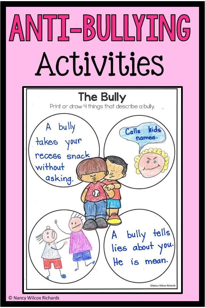 Anti Bullying Activities Bystander Activities Distance Learning Bullying Activities Anti Bullying Activities Writing Activities