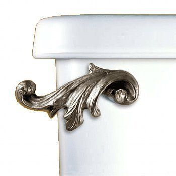 Acanthus Leaf Toilet Flush Handle - Oil Rubbed Bronze - Front Tank Mount by Functional Fine Art, http://www.amazon.com/dp/B003M9DBQG/ref=cm_sw_r_pi_dp_qcycsb0HJXTEE