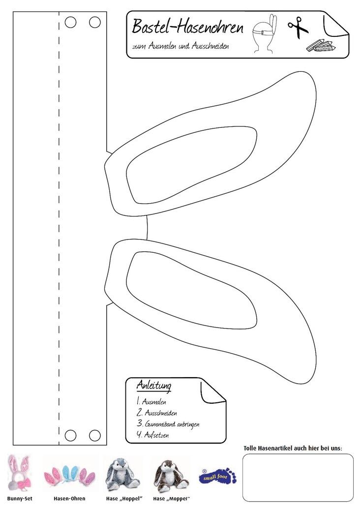 bastel hasenohren passend zum osterfest sind diese hasenohren ein muss eine s e verkleidung. Black Bedroom Furniture Sets. Home Design Ideas