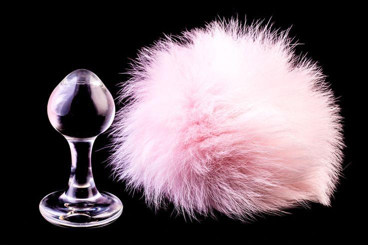 Crystal Minx Plug Anale con Coda Coniglietto Rosa