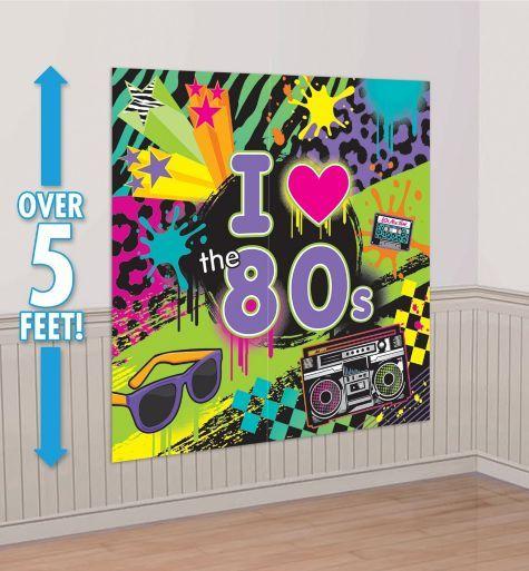 Totally 80s Scene Setter - Party City ($5.99)