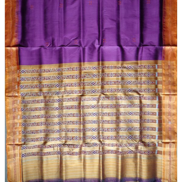 A Beautiful handloom silk saree: