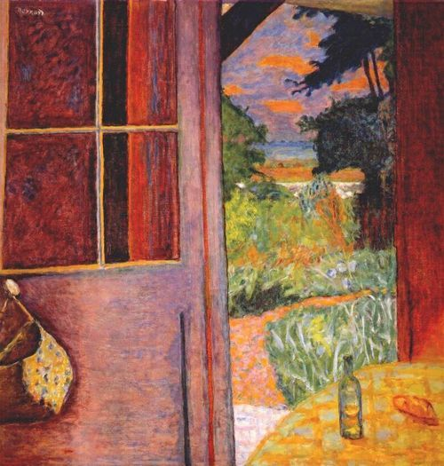 17 best images about pierre bonnard on pinterest gardens for Pierre bonnard la fenetre ouverte